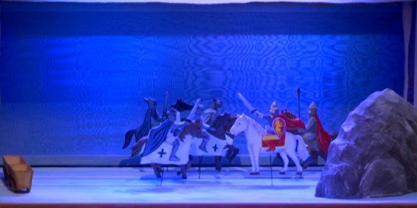 Спектакль про Александра Невского в Театре кукол Краснодара готовили полгода