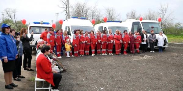 В хуторе Вольность Успенского района открылся фельдшерско-акушерский пункт