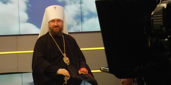 Владыка Григорий стал гостем программы «Встречи с кубанским митрополитом»