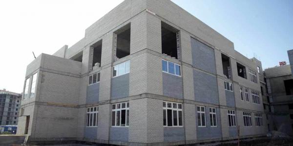 В Краснодаре наполовину завершили строительство школы на 1 тыс. 550 мест