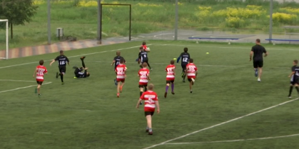 В Крымске прошел краевой турнир по регби среди юниоров