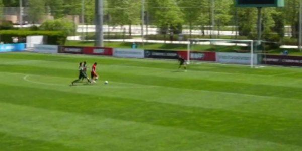 ФК «Краснодар» дома сыграл с «Рубином» в матче молодежных команд
