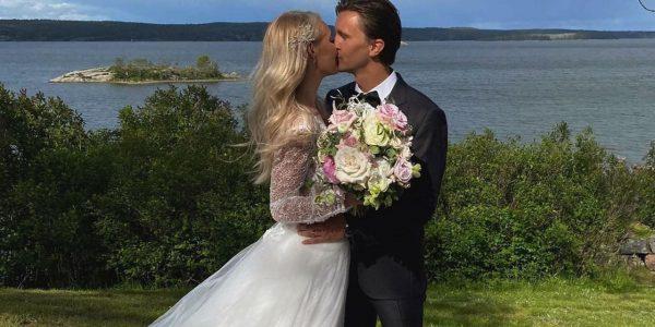 Полузащитник «Краснодара» Кристоффер Олссон женился