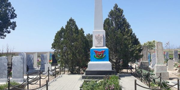 В Славянском районе отремонтировали два военных мемориала