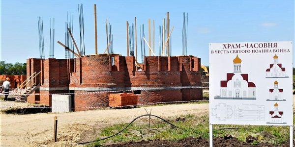 На Кубани губернатор и митрополит заложили камень в основание нового храма