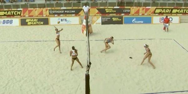 Женская сборная России по волейболу отыграла три матча в Лиге наций