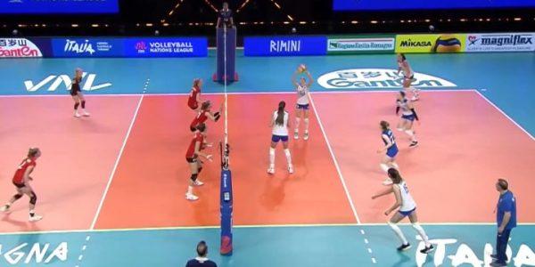 Волейболистки краснодарского «Динамо» в сборной России вышли против Бельгии