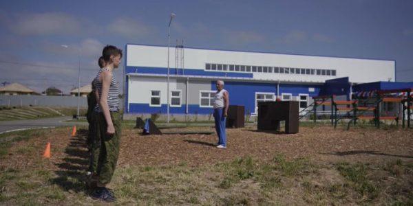 В Анапе открыли школьный спортзал с зонами для занятий единоборствами