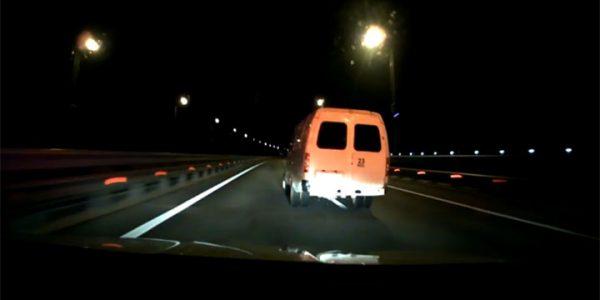 На Крымском мосту кубанец после «полторашки» чачи за рулем скрывался от полиции