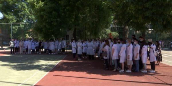 В Кубанском медицинском университете потушили условный пожар