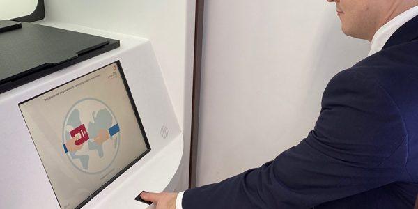 В Краснодаре открыли третью криптобиокабину для оформления загранпаспорта