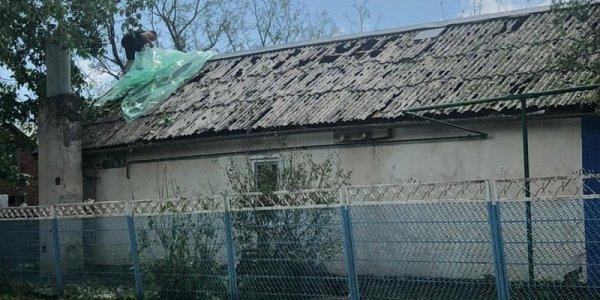 В Павловском районе спасатели обследовали более 400 поврежденных градом домов