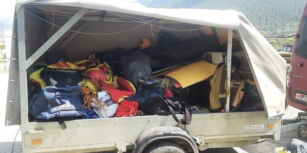 В КЧР обнаружили тело второго туриста, погибшего при опрокидывании катамаранов