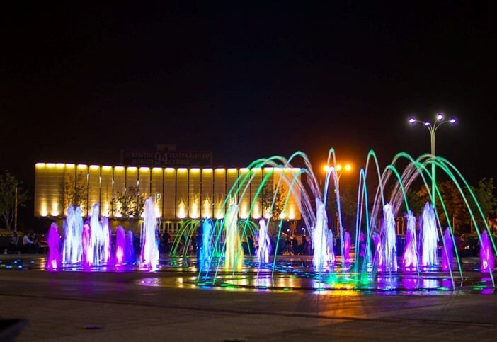 В Краснодаре фонтан на городской площади исполнит музыку Римского-Корсакова