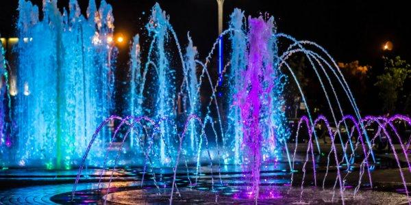Краснодарцы могут сами выбрать музыку фонтана на Главной городской площади