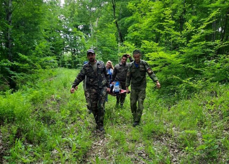 В лесу под Горячим Ключом нашли женщину со сломанной ногой