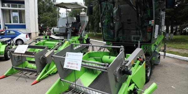 В уборке урожая на Кубани задействуют более 40 тыс. единиц сельхозтехники