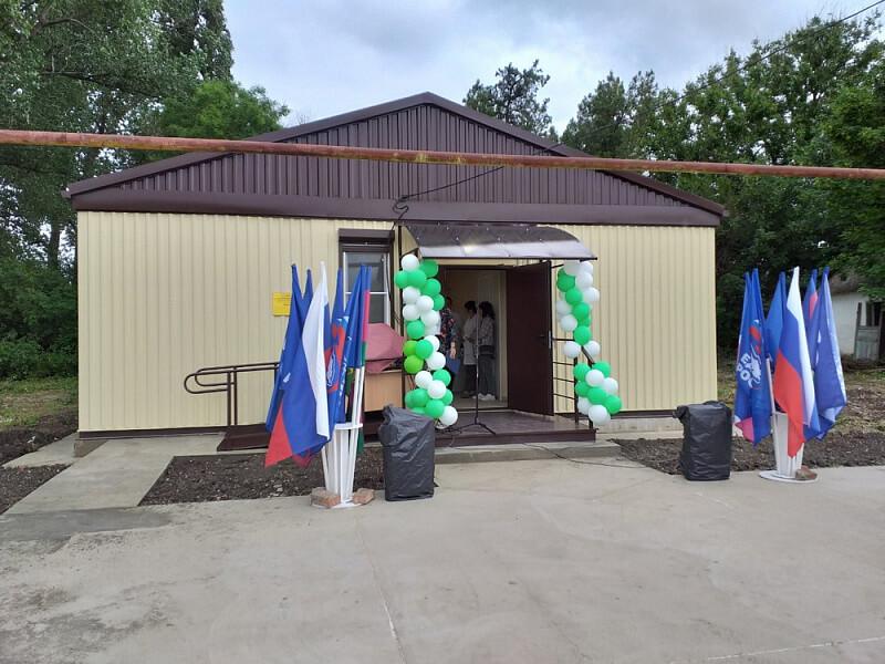 В Тимашевском районе по нацпроекту открыли новый фельдшерско-акушерский пункт