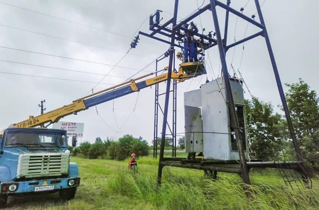 «Россети Кубань» восстановила энергоснабжение на юго-западе края