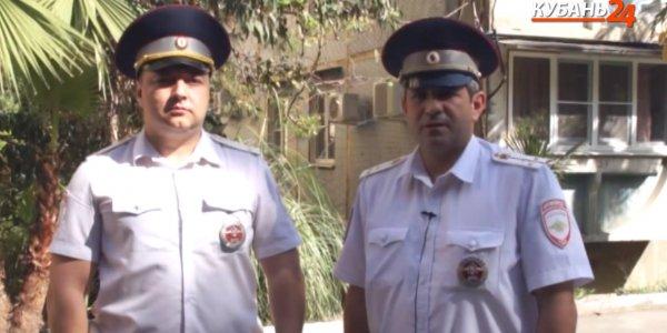 В Сочи госавтоинспекторы доставили в больницу пенсионера с рассечением головы