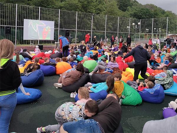 В Сочи строительная компания AVA GROUP провела праздник ко Дню защиты детей