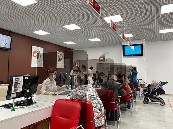 В Краснодаре на неделю закрыли офис МФЦ в торговом центре «Красная площадь»
