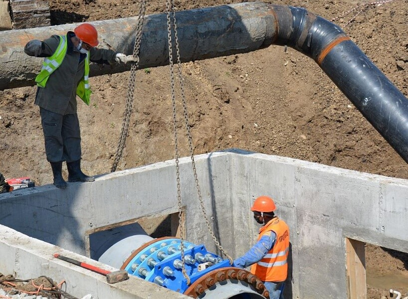 На Кубани начались работы по вводу нового участка Троицкого водопровода
