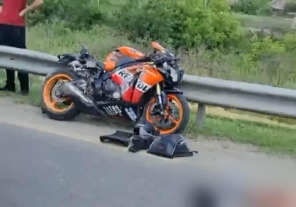 Под Краснодаром насмерть разбился 29-летний мотоциклист