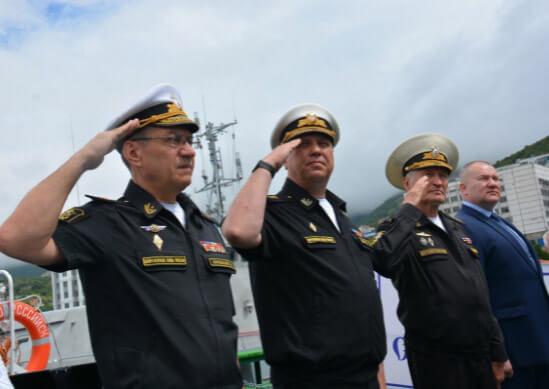 В состав Новороссийской ВМБ приняли гидрографический катер «Борис Слободник»