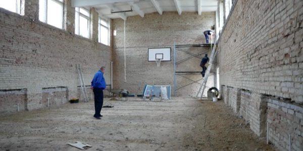 В Курганинском районе на ремонт школьного спортзала направят около 4 млн рублей