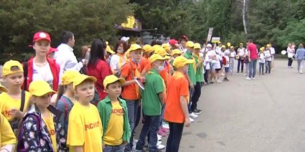 В Краснодаре в парке 30-летия Победы начался праздник к Дню защиты детей