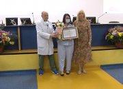 Анна Минькова наградила врачей медалями «За выдающийся вклад в развитие Кубани»