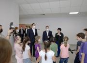 В День защиты детей Вениамин Кондратьев побывал в пришкольном лагере в Сочи