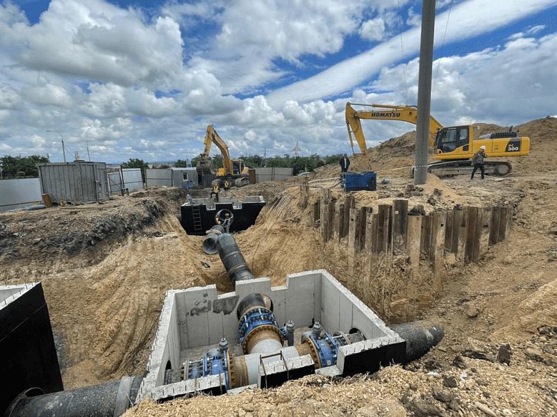 На Кубани на год раньше завершили строительство участка Троицкого водопровода
