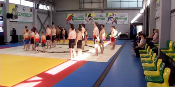 Японские сумоисты провели мастер-класс для кубанских спортсменов