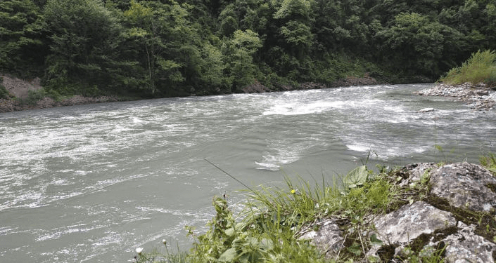 Установлена личность туристки, упавшей в бурную реку в Абхазии