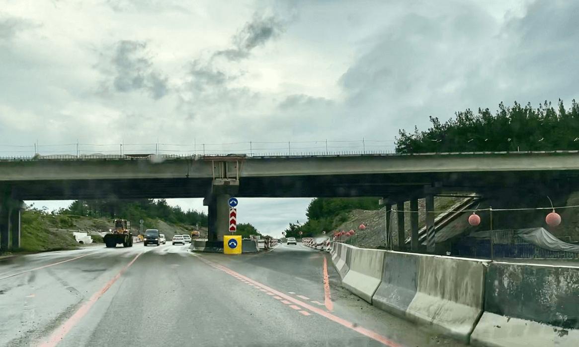 Под Геленджиком в июле полностью откроют выезд на мост трассы М-4