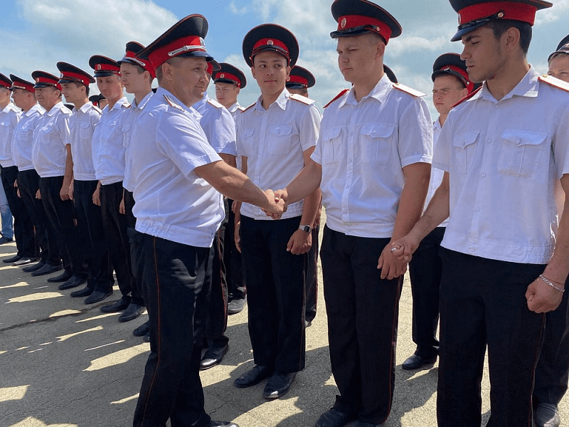 В ряды Кубанского казачьего войска вошли более 1200 новобранцев