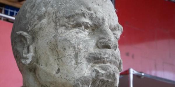 В Курганинском районе во время строительных работ откопали бюст Ленина