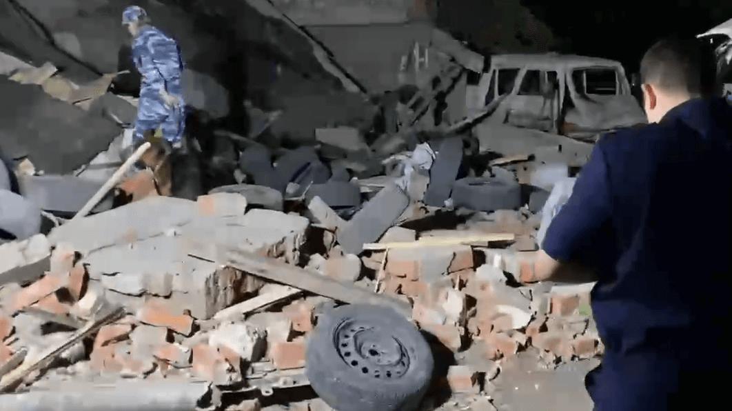 Пострадавшие из-за взрыва газа в гараже краснодарцы находятся в реанимации