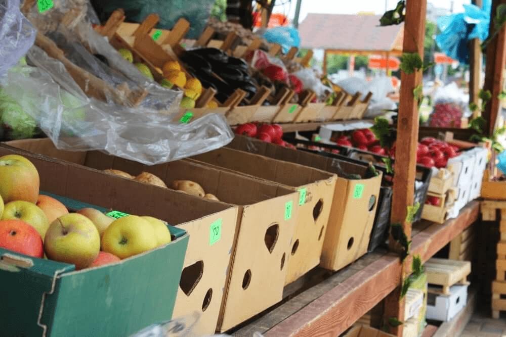 В Краснодарском крае открыли 92 придорожные ярмарки