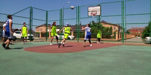 Баскетболисты готовятся к финалам муниципального этапа Кубка губернатора Кубани