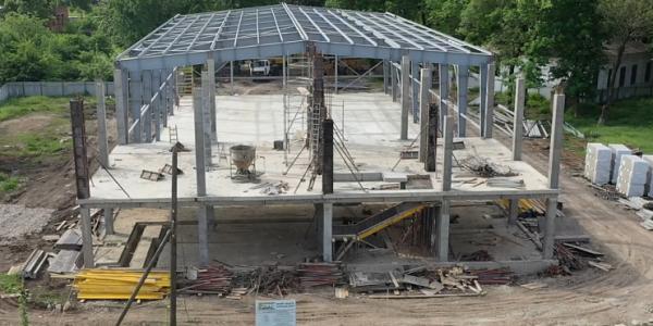Новый спорткомплекс в Динском районе сдадут в эксплуатацию до конца августа