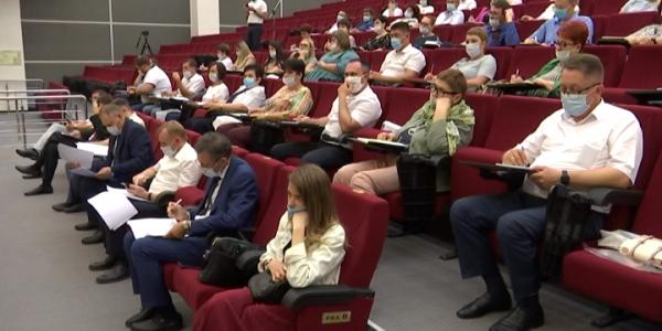 В Краснодаре прошел общекраевой обучающий семинар по вопросам выборов в Госдуму