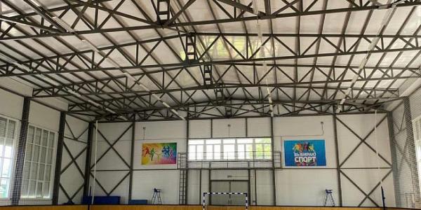 В станице Кубанской Апшеронского района открыли новый спортивный комплекс