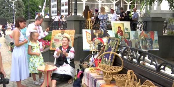 В Краснодаре прошел фестиваль традиционной казачьей культуры «Город мастеров»