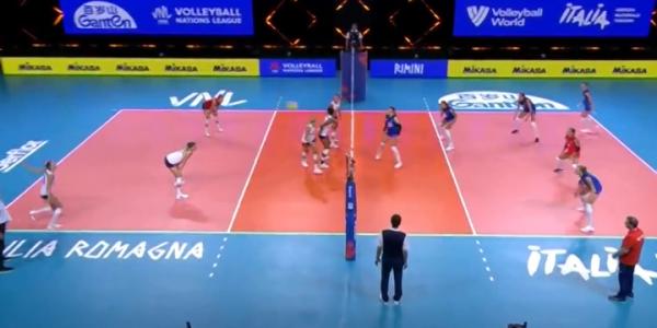 Женская сборная России по волейболу не прошла в плей-офф Лиги наций