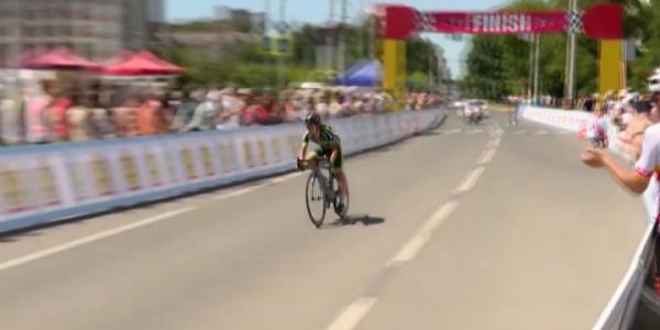 Кубанская велогонщица Седа Крылова завоевала золото чемпионата России