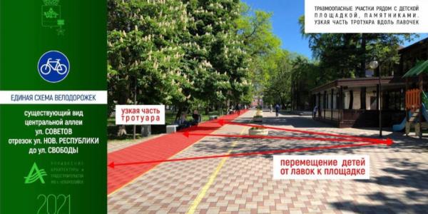 В Новороссийске объединят в одну сеть беговые маршруты и велодорожки