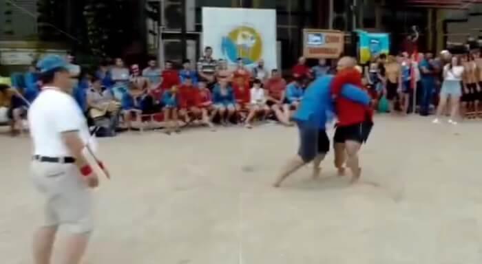 В Анапе пройдет первый в истории чемпионат России по пляжному самбо